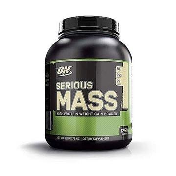 Снимка на Optimum Nutrition Serious Mass- Vanilla/ Оптимум Нутришън Сириъс Мас - Гейнър за качване на телесно тегло и мускулна маса