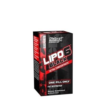 Снимка на Nutrex Research Lipo 6 Black  Ultra Concentrate/ Липо 6 Ултра Концентрат- Унищожител на мазнините