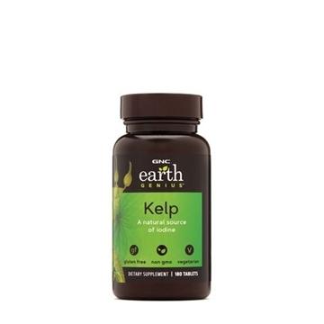 Снимка на GNC Earth Genius Kelp/ Келп- Естествен източник на йод