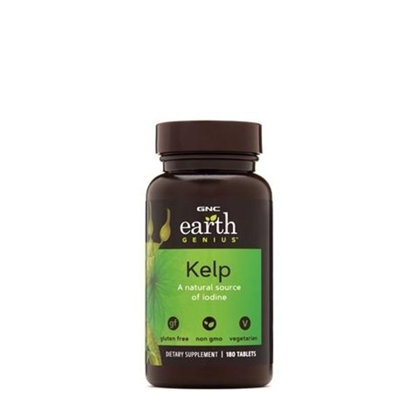 Picture of GNC Earth Genius Kelp/ Келп- Естествен източник на йод