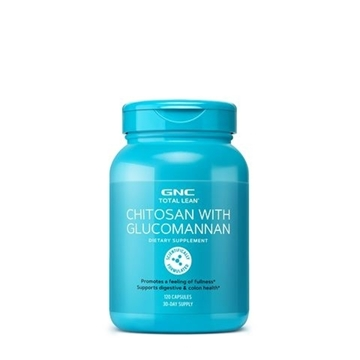 Снимка на GNC Total Lean Chitosan with Glucomannan / Хитозан + Глюкоманан- Излъжи глада, почувствай се сит