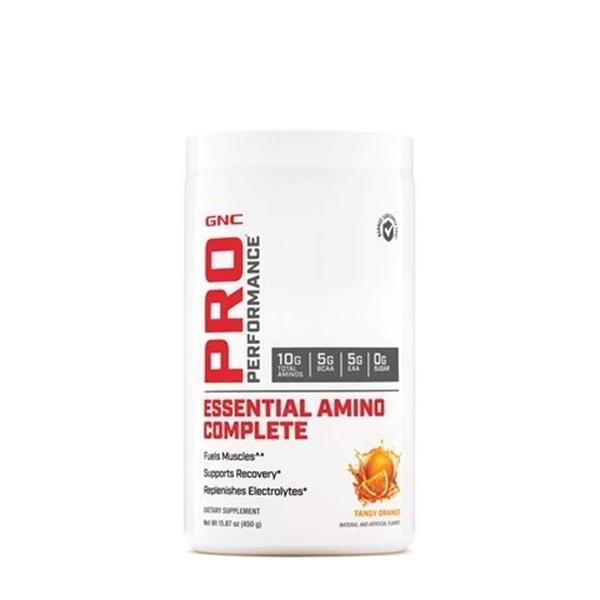 Picture of GNC Pro Performance Essential Amino Complete- Tangy Orange / Аминокиселини Есеншъл Комплийт - Възстановяване на мускулите и поддържане на водния баланс в организма