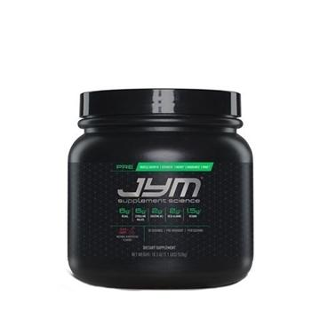 Снимка на JYM Pre JYM- Black Cherry/ Джим При- Предпренировъчен продукт за повече сила и издържливост