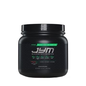 Снимка на JYM Pre JYM- Strawberry Kiwi/ Джим При- Предпренировъчен продукт за повече сила и издържливост