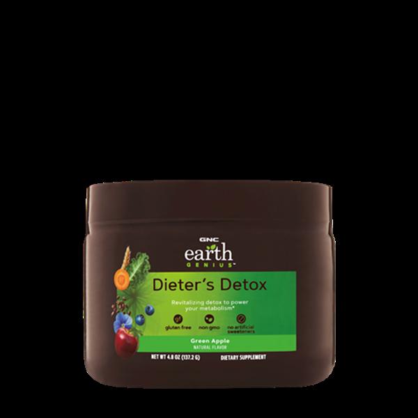 Picture of GNC Earth Genius Dieter's Detox - Green Apple/ Даетърс (Пречистващ бленд за храносмилателната система)- За здрава храносмилателна система