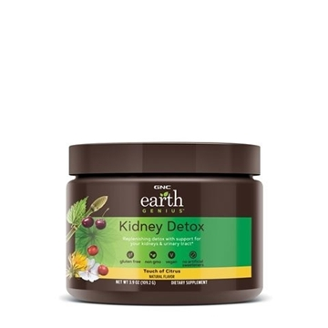 Снимка на GNC Earth Genius Kidney Detox- Touch Of Citrus/ Кидни(пречистващ бленд за бъбреци)- За здрави бъбреци