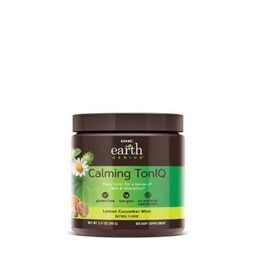 Снимка на GNC Earth Genius Calming Toniq - Lemon Cucumber Mint/ Калминг тон айкю - При тревежност и стрес