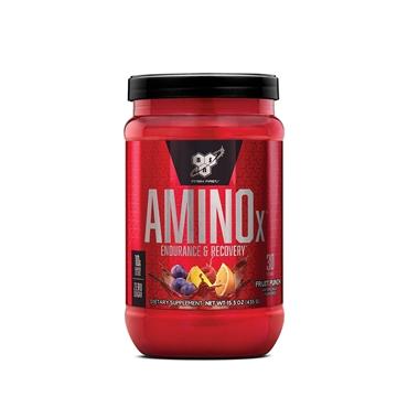 Снимка на BSN Amino X - Fruit punch/ Амино Х- Повече издръжливост и възстановяване след тренировка