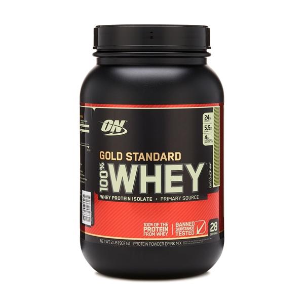 Picture of Optimum Nutrition 100% Whey Gold Standard™ Chocolate Mint / Оптимум Нутришън Голд Стандарт 100% Суроватъчен Протеин - Златен стандарт в качеството на протеините