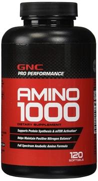 Снимка на GNC Pro Performance Amino 1000/ Амино 1000- Възстановяване и растеж на мускулите