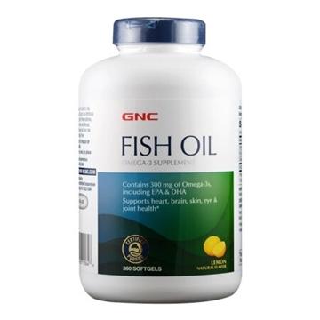 Снимка на GNC Fish Oil/ Рибено масло- Здраве от морето в подкрепа на очите, мозъка и сърцето