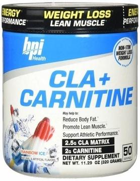 Снимка на BPI Sports Cla+ Carnitine – Rainbow Ice / КЛА+ Карнитин- Мощна формула. изгаряща мазнинитеs