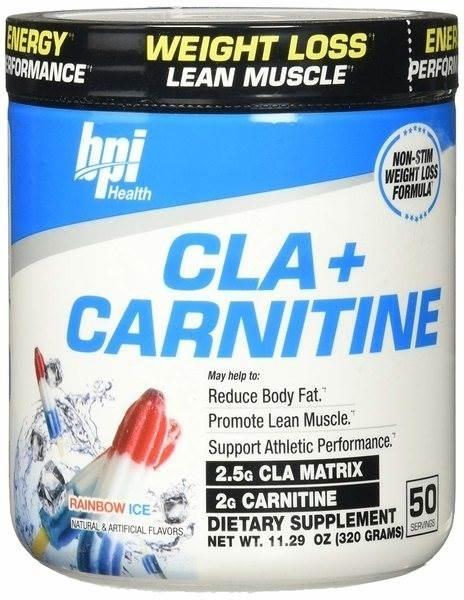 Picture of BPI Sports Cla+ Carnitine – Rainbow Ice / КЛА+ Карнитин- Мощна формула. изгаряща мазнинитеs
