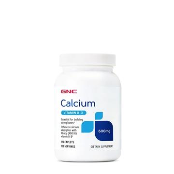 Снимка на GNC Calcium with Vitamin D-3/ Калций+ Витамин D3- Важен елемент за здравината на костите и зъбите