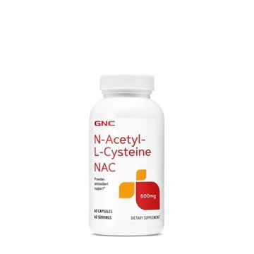 Снимка на GNC NAC 600 mg/ НАК 600 мг(N-Ацетил -L- Цистеин) - Антиоксидантна защита на организма