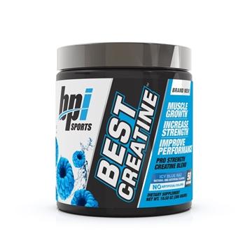 Снимка на BPI SPORTS Best Creatine- Icy Blue Raz/ БИПИАЙ Спортс Бест Креатин - Креатинов бленд за повече мускулен растеж, сила и здравина