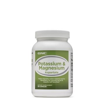 Снимка на GNC Potassium & Magnesium / Калий + Магнезий