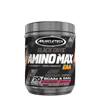 Снимка на Muscletech® Black Onyx Amino Maх EAA – Strawberry Lemonade/Мъсълтек Блек Оникс Амино Макс EАА