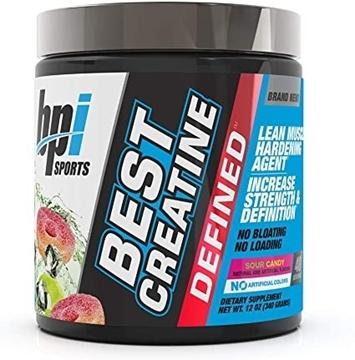 Снимка на BPI SPORTS Best Creatine Defined- Sour Candy / Креатин Дефайнд - Максимум сила за Вашата тренировка