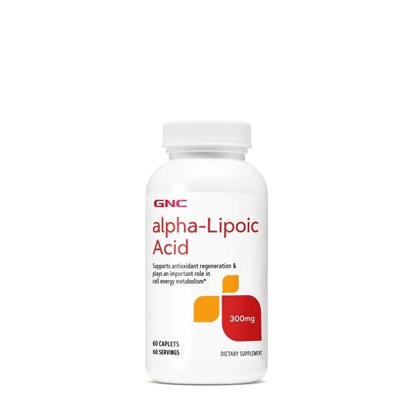 Picture of GNC Alpha Lipoic Acid 300 mg / Алфа- Липоева 300 мг -Мощен антиоксидант, забавя стареенето на клетките