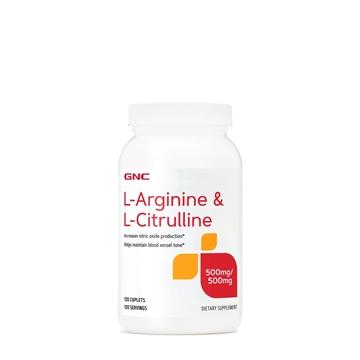 Снимка на GNC L-Arginine & L-Citrulline / Л- Аргинин + Л- Цитрулин
