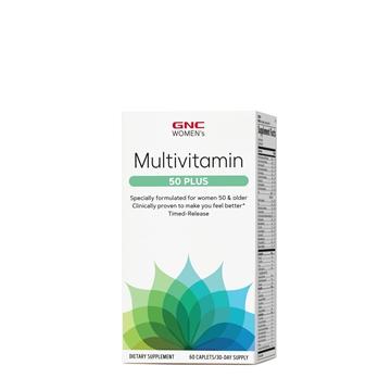 Снимка на GNC Women's Multivitamin 50 Plus/ Мултивитамини за жени 50 Плюс - Пълен спектър витамани, минерали, антиоксиданти и билки за здравето на жените над 50 години